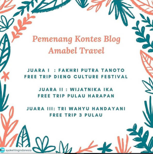 AMABEL TRAVEL
