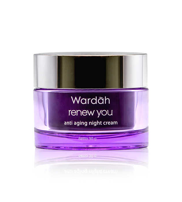 wardah renew you anti-aging night cream