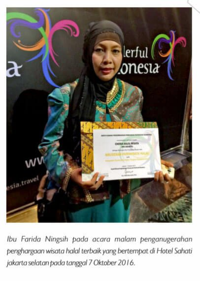 travel award cheria halal holiday