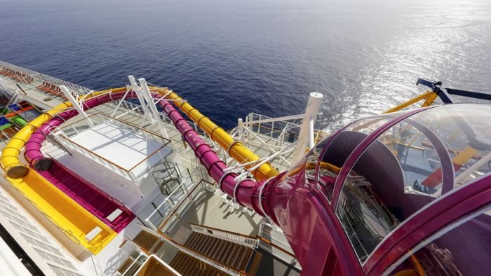 cruise-waterslide